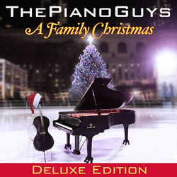 The Piano Guys: A Family Christmas Deluxe Edition CD With DVD - SBT-888837802222