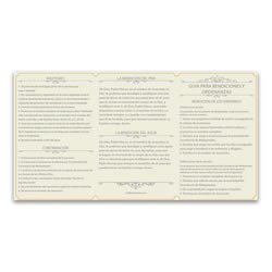 Spanish Priesthood Ordinance Card