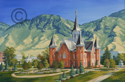 Provo City Center Temple Painting