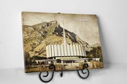 Provo Temple - Vintage Tabletop