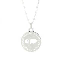 Puerto Rico Mission Necklace - Silver/Gold - LDP-CPN100