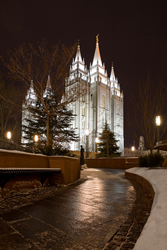Salt Lake Temple - Snowpath