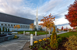 Boise Temple - Autumn Sunrise