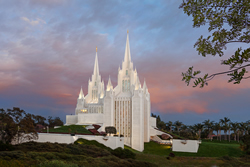 San Diego Temple - Eventide