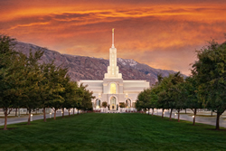 Mt. Timpanogos Temple - Sunrise