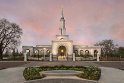 Sacramento Temple - Evening