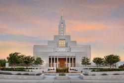 Draper Temple - Sunrise