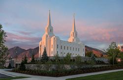 Brigham City Utah - Sunrise