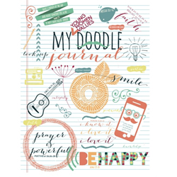 Young Women Values Doodle Journal yw values journal, yw journal, lds journal, lds scribble journal
