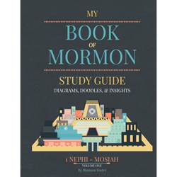 Book of Mormon Study Guide Vol. 1 (1 Nephi-Mosiah) red headed hostess, book of mormon study guide, book of mormon help book, book of mormon study guide volume 1, red headed hostess study guide, red headed hostess book of mormon study guide