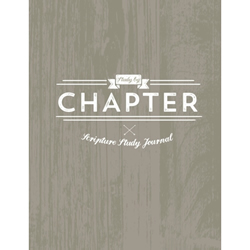 Study by Chapter Journal - Rustic Version - RHH-9781511742221