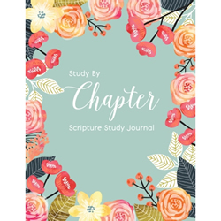 Study by Chapter Journal - Floral Version - RHH-9781511742306