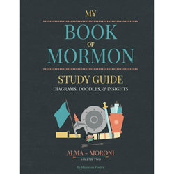 Book of Mormon Study Guide Vol. 2 (Alma-Moroni) red headed hostess, book of mormon study guide, book of mormon help book, book of mormon study guide volume 2, red headed hostess study guide, red headed hostess book of mormon study guide