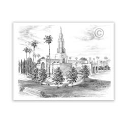 Redlands California Temple Recommend Holder