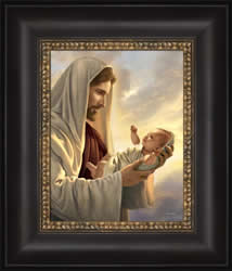 In His Constant Care - Framed - D-AFA-SD-IHCC