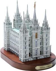 Salt Lake Temple Statue