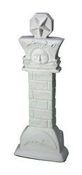 "9.5"" Nauvoo Pillar Statue christus statues, christus statue, christus, lds christus, mormon christus, deseret book christus, one moment in time christus"