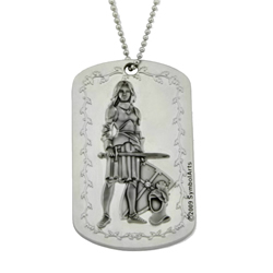 Womens Armor of God Dogtag