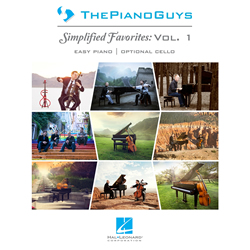 The Piano Guys: Simplified Favorites Vol. 1 - Songbook
