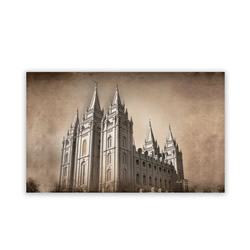 Salt Lake City Utah Temple Recommend Holder