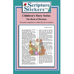 Children's Book of Mormon Scripture Stickers