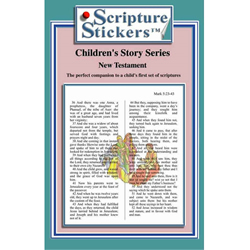 Childrens New Testament Scripture Stickers