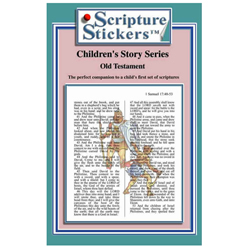 Childrens Old Testament Scripture Stickers