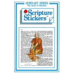 Book of Mormon Seminary Scripture Stickers