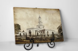 Sacramento Temple - Vintage Tabletop