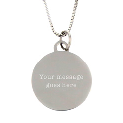 I Love to See the Temple Necklace - Silver - LDP-CPN0501