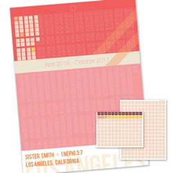 Tract Sister Missionary Countdown Calendar - LDP-PST35226