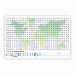 World Missionary Countdown Sheet - Sister