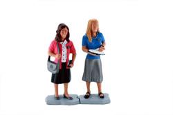 Sister Missionaries Figurine