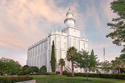 St. George Temple - Holy Places