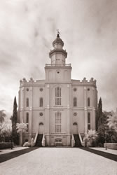 St. George Temple - Infared
