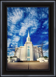 St. Louis Temple - Framed