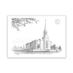 St Louis Missouri Temple Recommend Holder