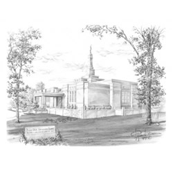 St. Paul Minnesota Temple Recommend Holder