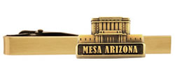 Mesa Arizona Temple Tie Bar - Gold