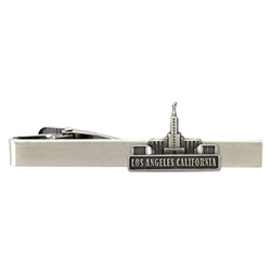 Los Angeles Temple Tie Bar - Silver