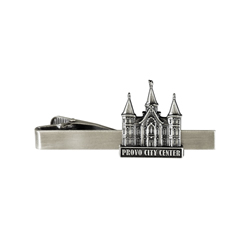 Provo City Center Tie Bar - Silver