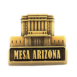 Mesa Arizona Temple Pin - Gold