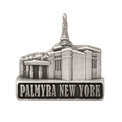 Palmyra New York Temple Pin - Silver