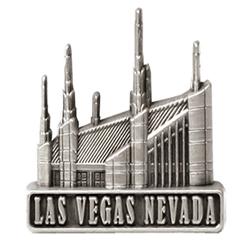 Las Vegas Temple Pin - Silver