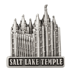 Salt Lake Temple Pin - Silver