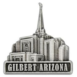 Gilbert Arizona Temple Pin - Silver