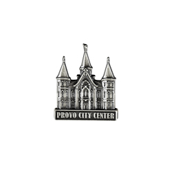 Provo City Center Tie Pin - Silver
