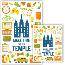 Make Time for the Temple Posters - Printable