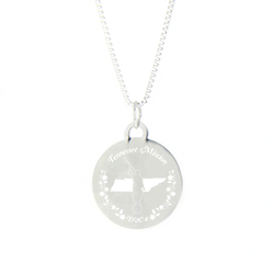 Tennessee Mission Necklace - Silver/Gold tennessee lds mission jewelry