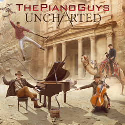 The Piano Guys: Uncharted CD - SBT-MBWY535489